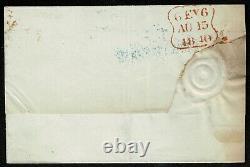 1840 1d Black Pl 4 LA 4m Very Fine Used London to Grays Inn Cat. £750.00