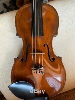18th Century Violin by Joannes Georgius Huber Very Fine Tone