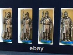 54mm Robin Hood Chess Set Very Fine Quality Pewter Pieces The Edman Collection