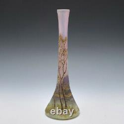 A Very Fine Legras Cameo Landscape Vase c1910