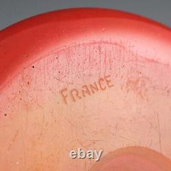 A Very Fine Schneider Rosaces Vase c1929