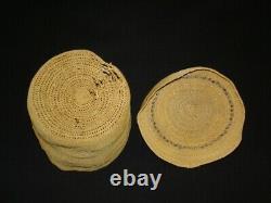 A very fine Attu (Aleutian) Rattle Top Basket, Native American Indian, c. 1900