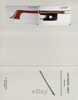 A very fine French certified cello bow F. Lotte, ca. 1950, NICE