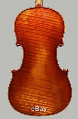 A very fine French violin by Auguste Sebastien Philippe Bernardel Pere, 1849
