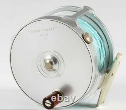 A very fine Hardy Salmon Bougle Mk IV fly reel 4 diameter