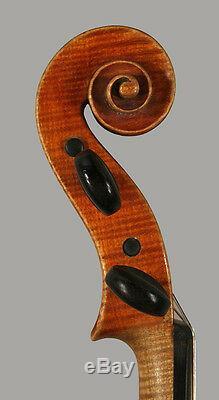 A very fine Italian certified violin by Paolo Erba, 1915