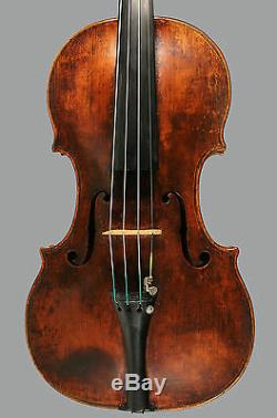 A very fine certified German violin by George Klotz, 1731. EXCELLENT