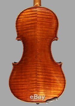 A very fine certified Italian violin by Ettore Siega, 1934, Venice