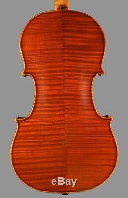 A very fine certified Italian violin by Otello Bignami, 1977, Bologna. Beautiful