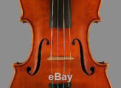 A very fine certified Italian violin made by Otello Bigniami, 1977, BEAUTIFUL