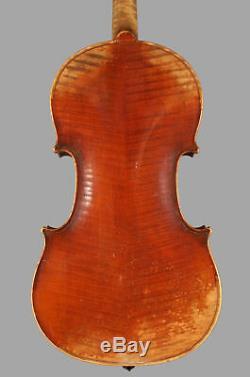A very fine old French violin, Justin Derazey, c. 1875, Stradivari mod. NICE