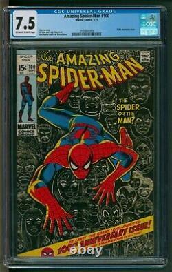 Amazing Spider-Man #100 Comic CGC VFN Minus Marvel Comics Classic issue