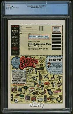 Amazing Spider-Man 194 Marvel Comics CGC graded VFN Plus Fantastic copy