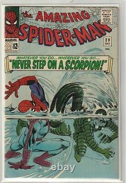 Amazing Spider-Man # 29 Very Fine 2nd Scorpion