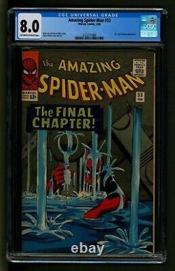 Amazing Spider-Man #33 Comic CGC Very Fine Marvel Comics Fantastic art sequence