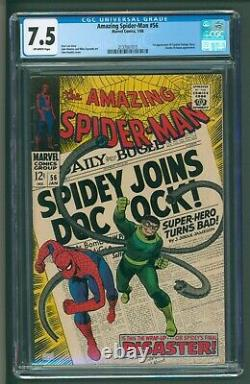 Amazing Spider-Man #56 Marvel Comics Very Fine Minus CGC Doctor Octopus team up