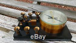Antique Siemens Bros Galvanometer/Telegraph Key/Testing Apparatus Very Fine