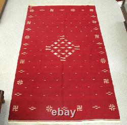 Antique Very Fine Weave Mexican Wool Blanket 78 x 44 1/2 c. 1930s