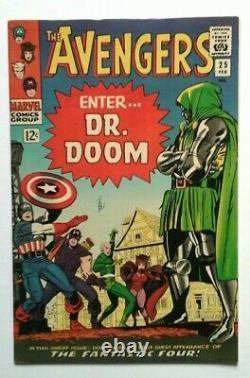 Avengers # 25 Very Fine Plus 1966