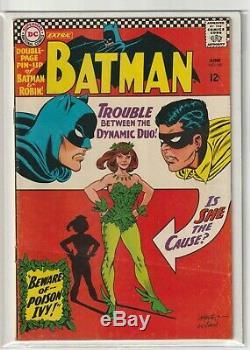 Batman # 181 Very Good/Fine 5.0 1st Appearance Poison Ivy