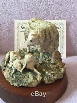 Border fine arts VERY EARLY and RARE. CHEVIOT EWE and LAMBS
