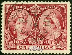 Canada 1897 Unitrade # 61 Used Very Fine / Extra Fine