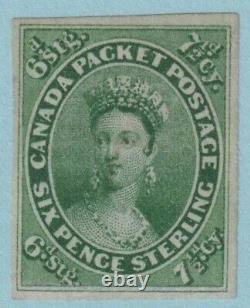 Canada 9 1857 Used No Faults Very Fine! Large Margins