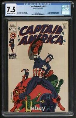 Captain America #111 Marvel Comics VFN minus Classic Jim Sternako cover