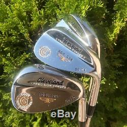 Cleveland Golf Reg. 588 set of 3 wedges, very fine condition