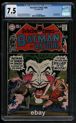 Detective Comics #388 DC Comics CGC VFN Minus Batman versus The Joker