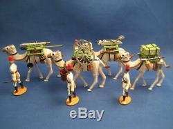 Egptian Army Camel Corps Canon Train 1895 36pcs Very Fine Wm Hocker/Somerset