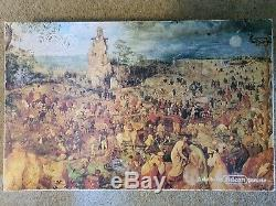Falcon 5000 Piece Jigsaw 3407 P. Bruegel Fine Art VERY RARE Unopened