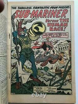 Fantastic Four King-size Annual #1 Very Fine Marvel Cent Copy 1963