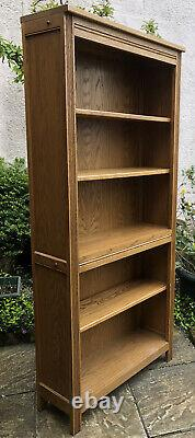 Fine Rare Model Solid Oak Old Charm Vintage Oak Bookcase Very Clean We Deliver