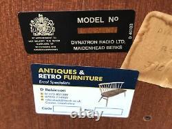 Fine Retro Teak Danish Style Sideboard, Very Clean We Deliver