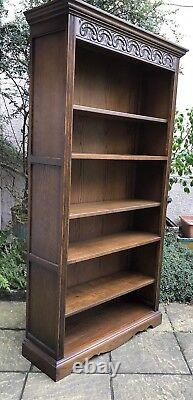 Fine Solid Oak Old Charm Ligh Oak All Bookcase Very Clean We Deliver