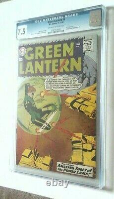 Green Lantern # 3 Cgc 7.5 1960
