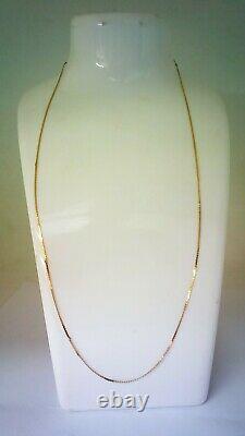 Hallmarked 18 CT Gold Very Fine Necklace