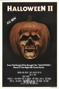 Halloween II 1981 27x41 Orig Movie Poster FFF-19266 Rolled Very Fine Horror