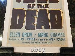 ISLE OF THE DEAD Original 1945 Movie Poster, Insert, 14 x 36, C8 Very Fine