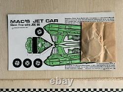 JOE 90 NO. 1 17th JAN 1969 + FREE GIFT MAC'S JET CAR FINE/VERY FINE COND