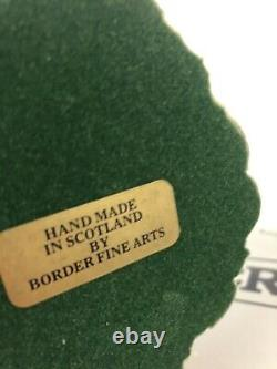 Lakeland Fell Patterdale Terrier Border Fine Arts Ray Ayres 1983 VERY RARE
