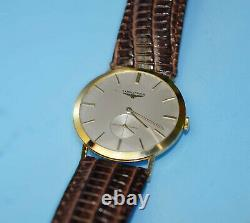 Longines Vintage Gold Watches Cal. 19.4, Very Fine