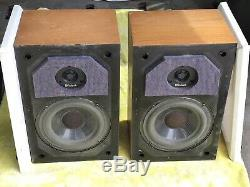 Mcintosh XL -1 Walnut Bookshelf Vintage Speaker Very Rare Fine