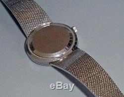 Mens Omega Constellation Quartz Bracelet Watch. Very Fine