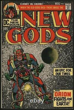 New Gods 1 Comic VFN DC Comics First Appearance of Orion and New Gods