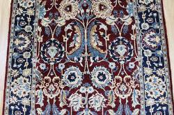 Old Handmade Persian Rug 160 x 93cm With Very Fine Weave & Superb Colour
