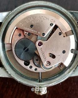 Omega Seamaster Grade 2577-24 Sc Wrist Watch Very Fine Original Dial From 1952