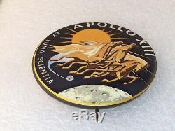 Original 1970 NASA Apollo 13 Mission Button Very Fine Condition see descript