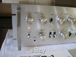 Pioneer SPEC-1- Stereo Pre-Amplifier Very Fine